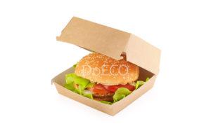 Упаковка для бургеров (крафт)