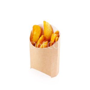 Упаковка для картофеля фри (крафт)