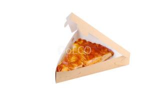 Крафтовая упаковка для пиццы и пирогов