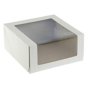 """Короб для транспортировки """"Pasticciere"""" с окном"""