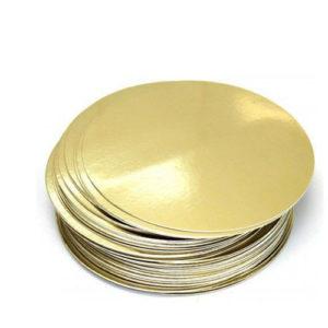 """Подложка для торта """"Pasticciere"""" золото (0,8 мм)"""