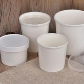 Супницы и стаканы. Упаковка для каш, мороженного, горячих напитков.
