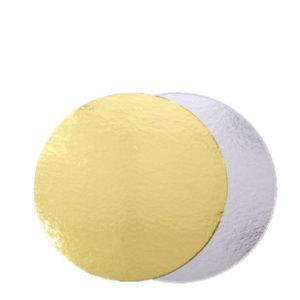 """Подложка для торта """"Pasticciere"""" (золото/серебро; 0,8 мм)"""