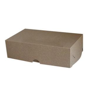 Коробка для зефира. Крафт-премиум.