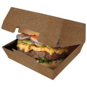 Упаковка для бургеров  («Pure Kraft»)