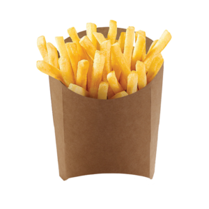 Упаковка для картофеля фри («Pure Kraft»)