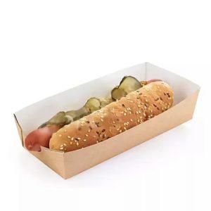 Лоток для хот-дога/картофеля фри (крафт)
