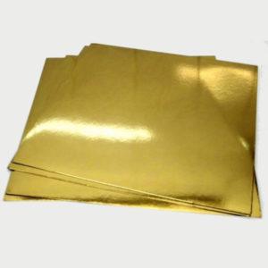 """Подложка для торта """"Pasticciere"""" (золото/бел. жемчуг; 1,5 мм)"""