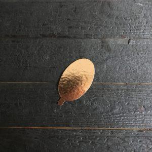 """Подложка """"Pasticciere"""" с держателем (золото; 0,8 мм)"""