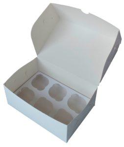 Коробка для капкейков. Эконом.
