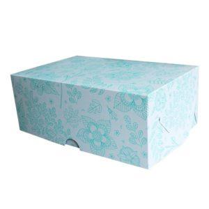 """Коробка для 6 капкейков """"Фантазия"""""""