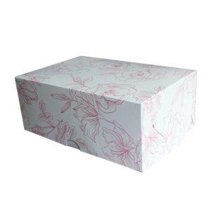 "Коробка для 6 капкейков ""Гибискус"""
