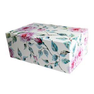"""Коробка для 6 капкейков """"Роза"""""""