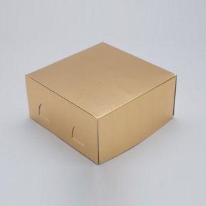Коробка для торта «Pasticciere — ХромЭрзац» золотая