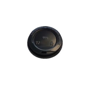 Крышечка для стаканов черная (без питейника)
