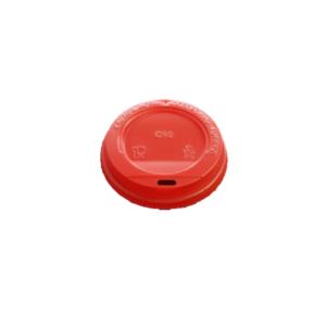 Крышечка для стаканов красная (без питейника)
