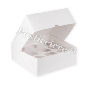 Короб для капкейков «Pasticciere» белый