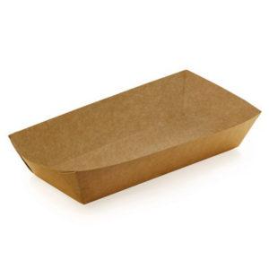 Упаковка для бургера, картофеля фри, чиабатты (крафт)