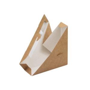 Крафтовая упаковка для сендвичей
