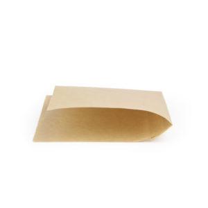 Бумажные уголки крафт для бургеров и сэндвичей